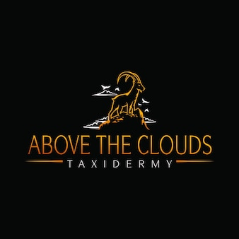 Above the clouds taxidermy