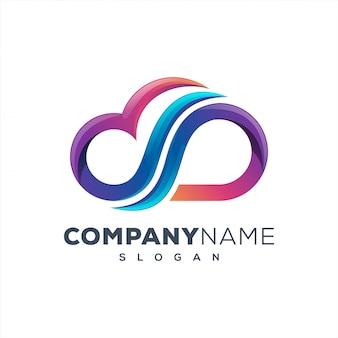 Cloudtech дизайн логотипа