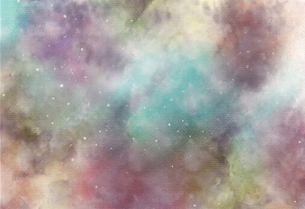 曇ったエレガントな抽象的な水彩画の背景