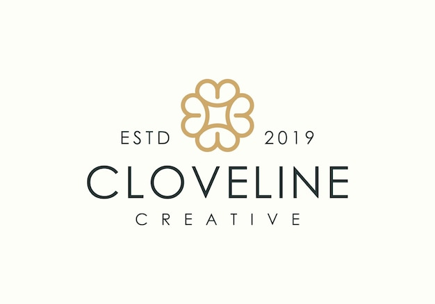 Логотип clove line art