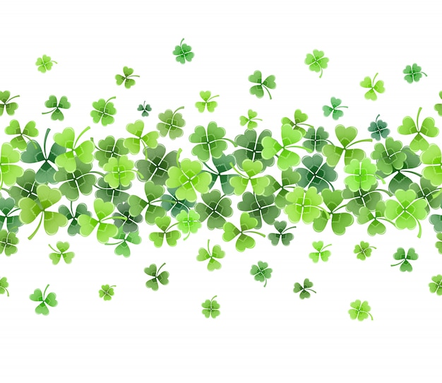 Clover leaves frame