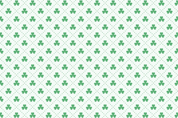 Clover leaves pattern for st patricks day
