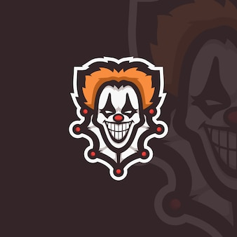 Clown esport character