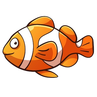 Clownfish cartoon