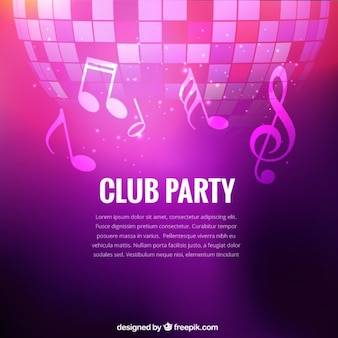 Club party background