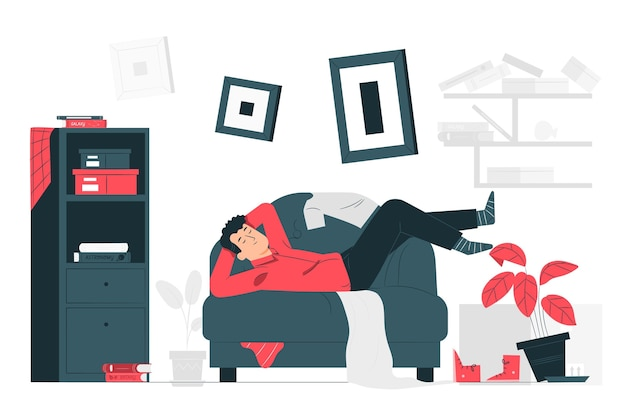 Clutter concept illustration