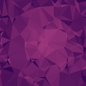 Cluttered Polygonal Background in Magenta Tones