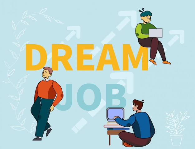 Coaching courses for searching dream job advert