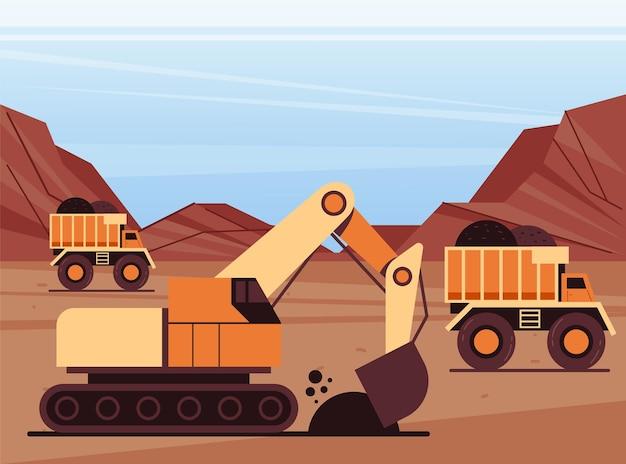 採炭石炭製造業の生産コンセプト