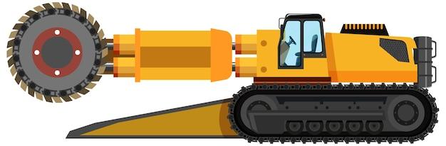 分離された石炭鉱業ロードヘッダー