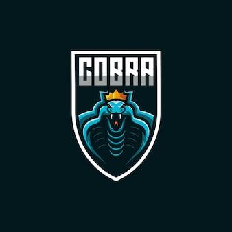 Кобра логотип игровой