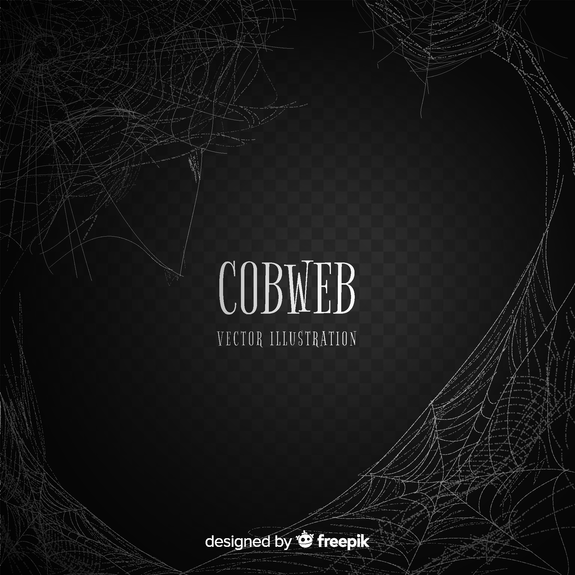 Cobweb background