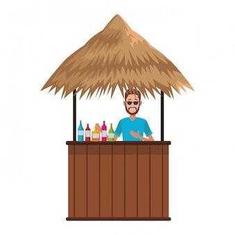 Cocktail beack kiosk