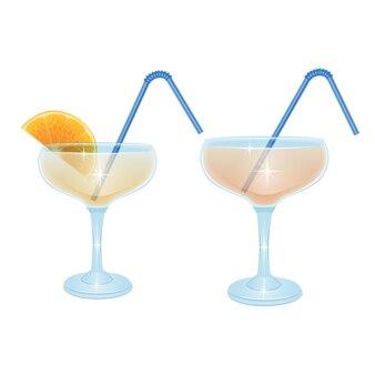 Набор бокалов для коктейлей