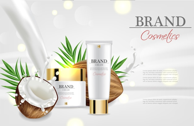 Coconut cream moisturizer