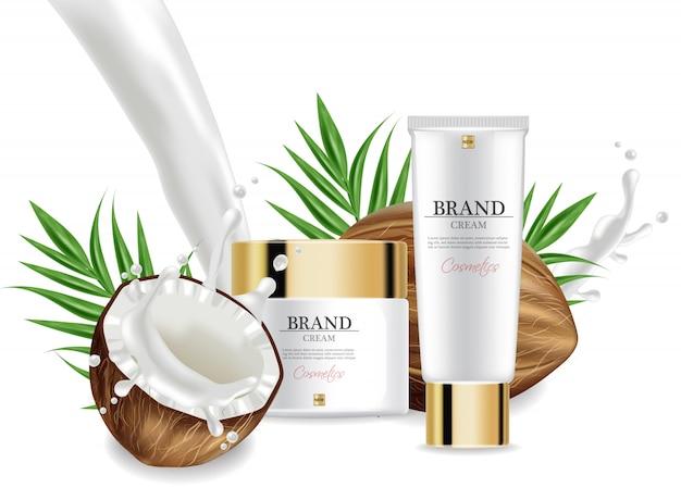 Coconut creams collection