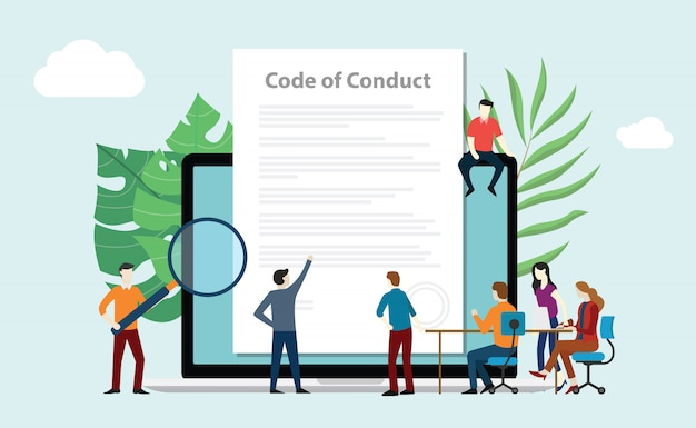 Code of conduct team