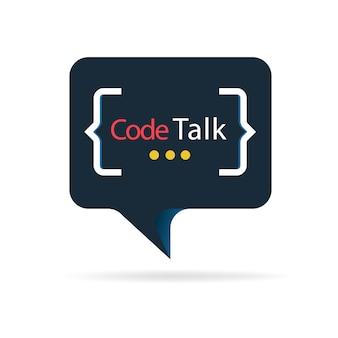 Code talk logo