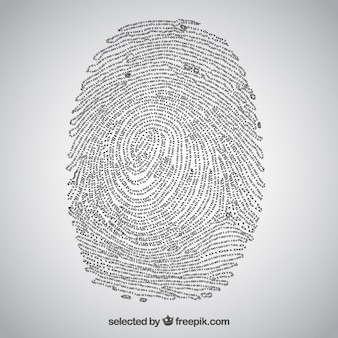 Coded fingerprint