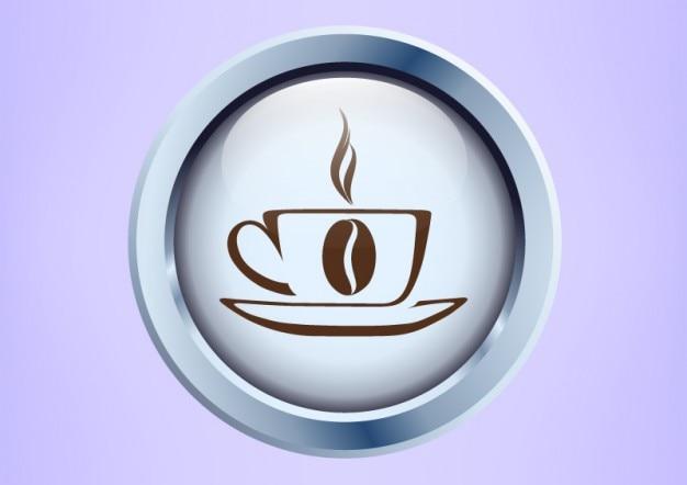 Cofee cup sketch logo vector