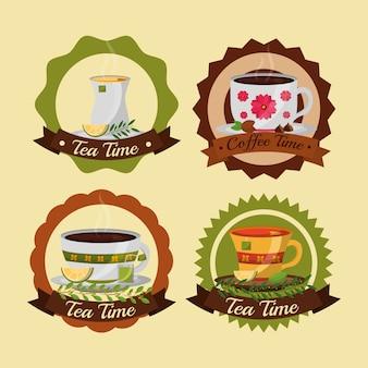 Чашки для кофе и чая