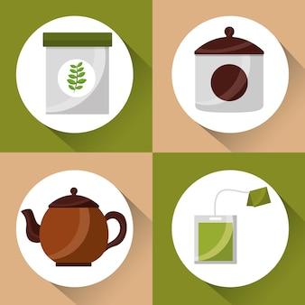 コーヒーとお茶の時間