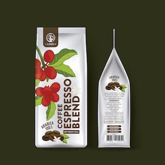 Дизайн упаковки кофейного мешка