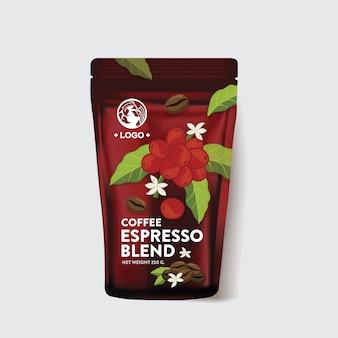 Упаковка для кофе в мешках
