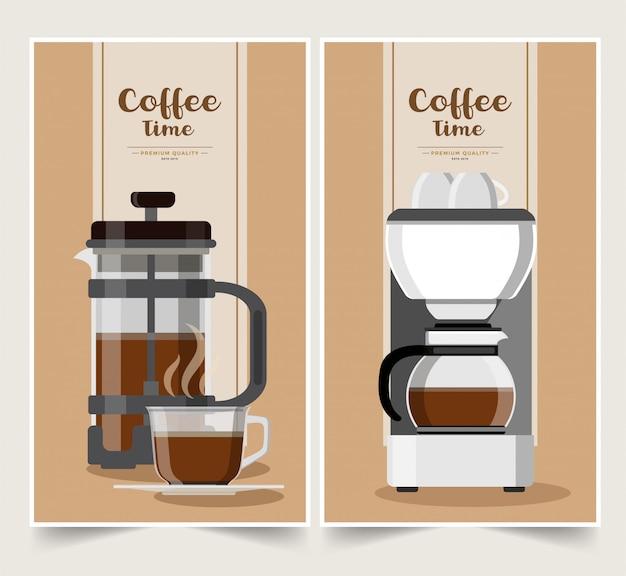 コーヒーバナー