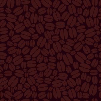 Coffee beans pattern