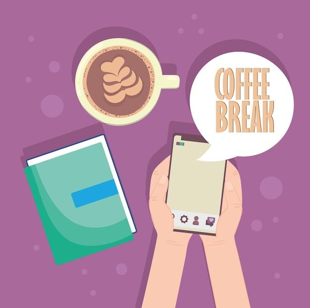 Coffee break concept
