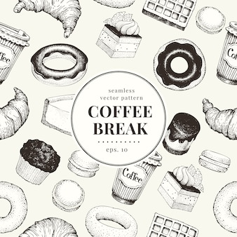 Coffee break pattern