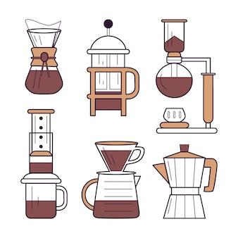 コーヒーの醸造方法