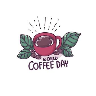 コーヒー漫画イラスト