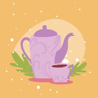 Coffee cup and jar