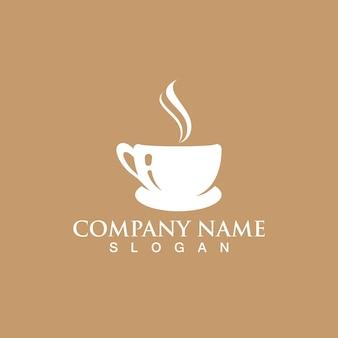 커피 컵 로고 템플릿 벡터 아이콘 디자인