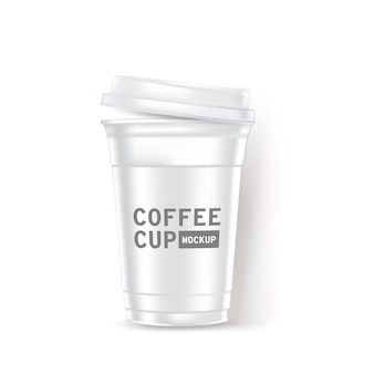 Coffee cup realistic