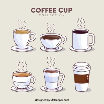 Coffee Cup Vectors s and PSD files