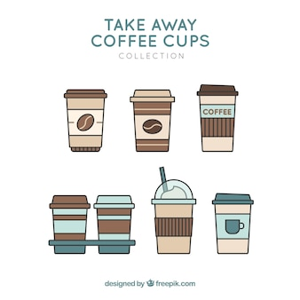 Coffee cups for take away