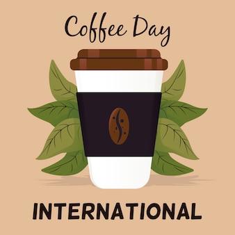 コーヒーの日の概念図