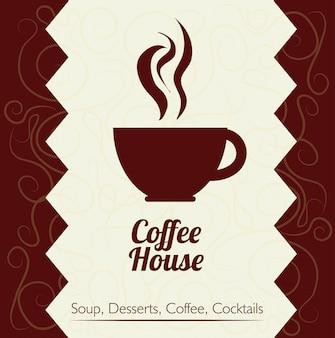 コーヒーのデザイン
