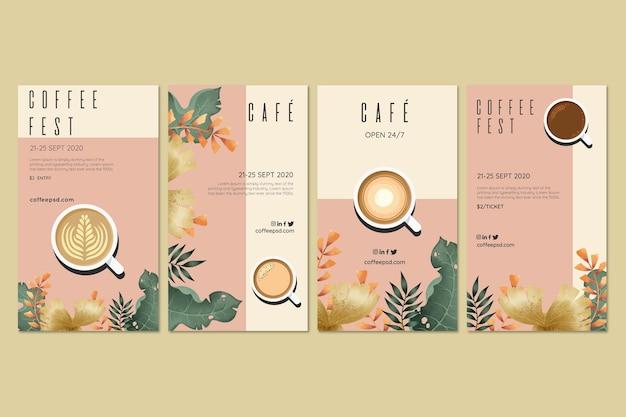 Coffee fest concept