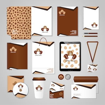 Coffee house identity