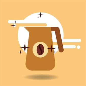 Coffee jar bean beverage image