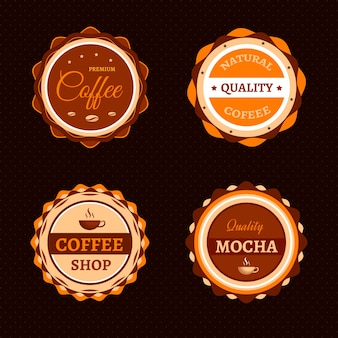 Coffee label collection