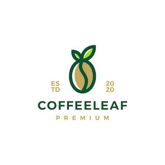 コーヒーの葉のロゴ