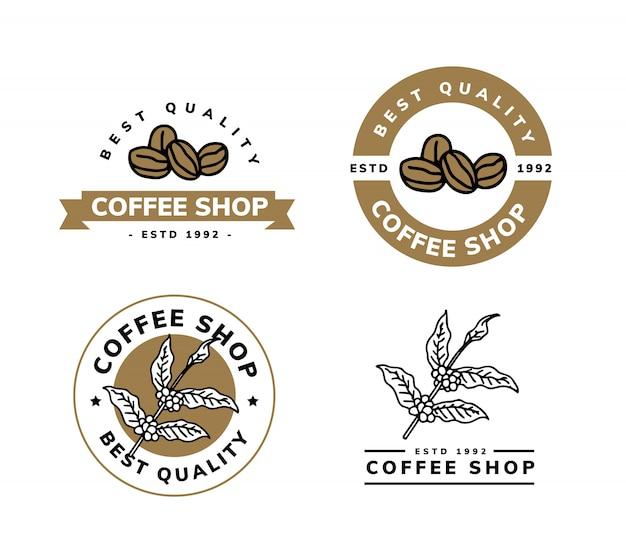 커피 로고 디자인