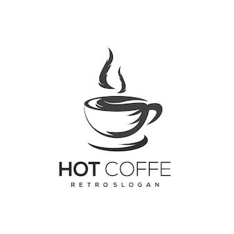 커피 로고 템플릿