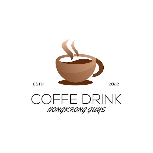 コーヒーのロゴのテンプレート
