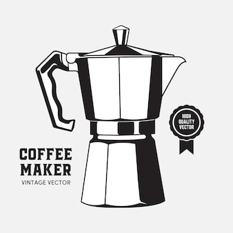 Coffee maker moca pot